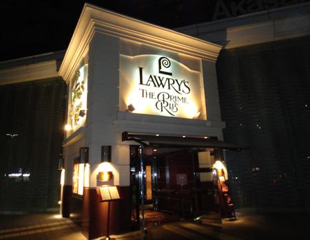Lawry's The Prime Rib,Tokyo