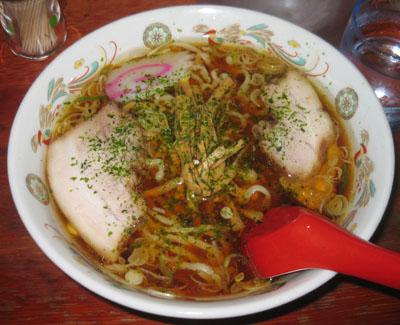 赤湯ラーメン(醤油)