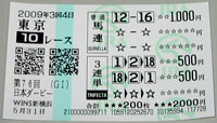 日本ダービー2009