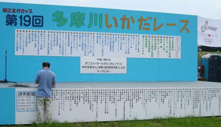 第19回多摩川いかだレース